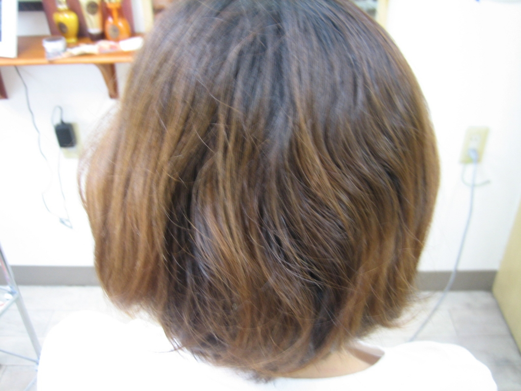 奈良県 教師 美容室 縮毛矯正専門 公務員 学園前