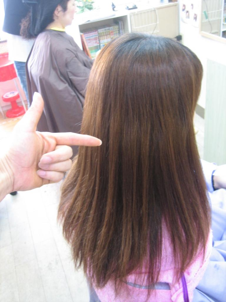 奈良県 縮毛矯正 学園前 北生駒 白庭台 美容室の失敗 クセが伸びない
