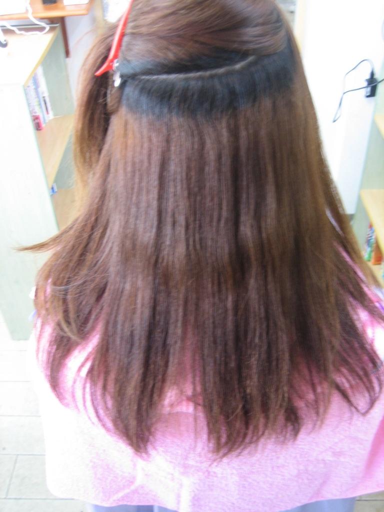 美容室 奈良 北生駒 髪質改善専門店 白庭台 縮毛矯正の失敗