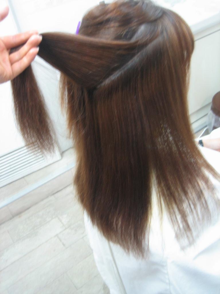 髪質改善すぐ取れる 学園前 美容室