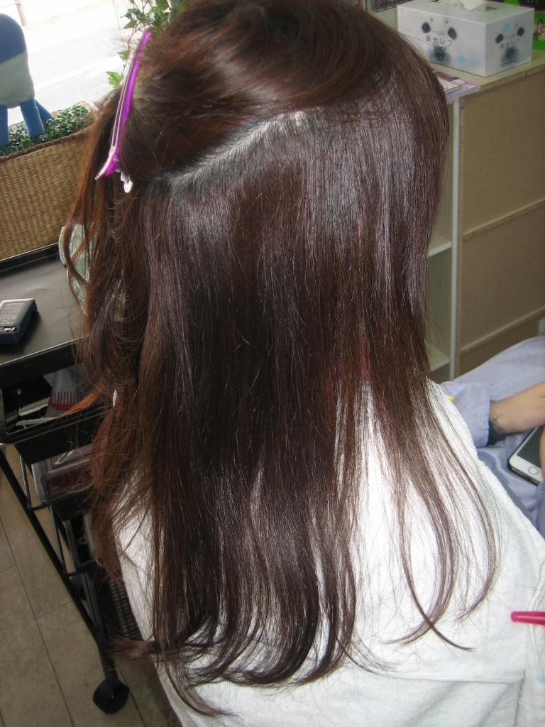 奈良市 ならびようしつ 縮毛矯正 美容院