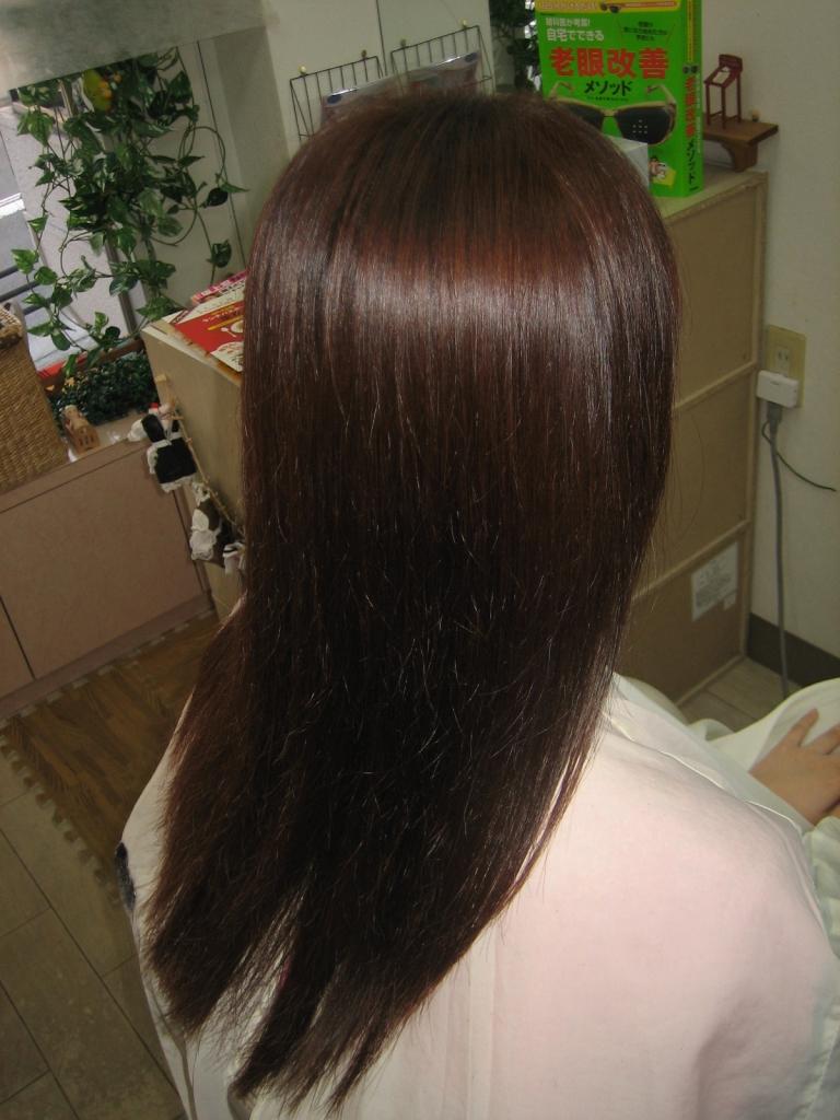 奈良県 美容室 縮毛矯正 高の原 髪質改善