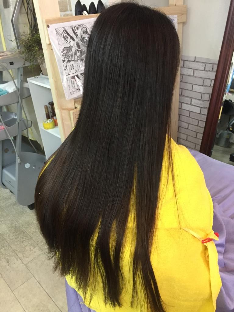 奈良市 美容室 縮毛矯正の失敗 痛まないストレート