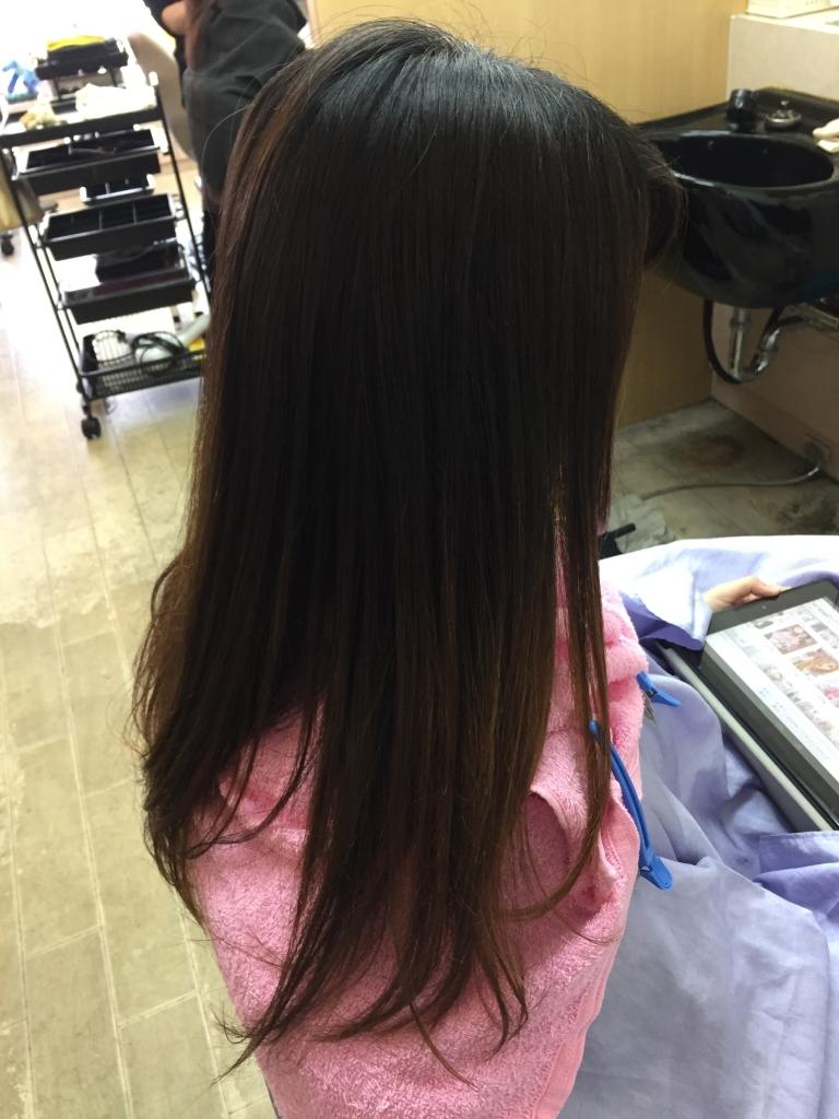髪質改善専門店 フルオーダーストレート 髪のストレス 美容室 究極のストレートパーマ 高の原 学園前 美容室