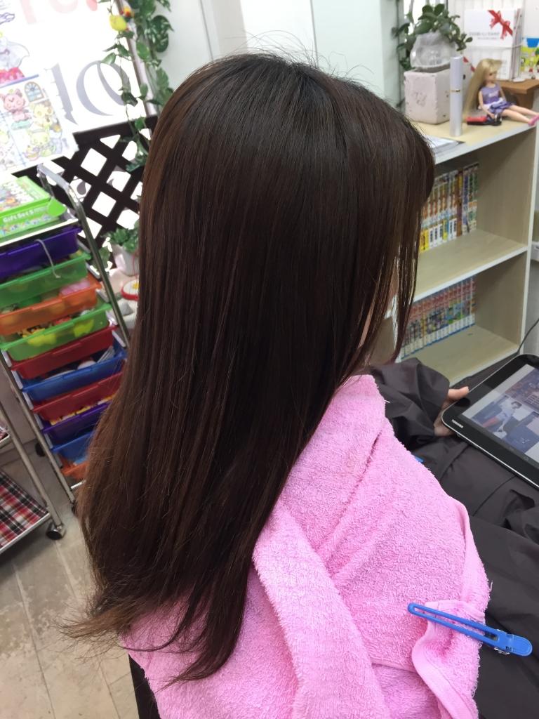 プラチナストレート 奈良県美容室 縮毛矯正専門店
