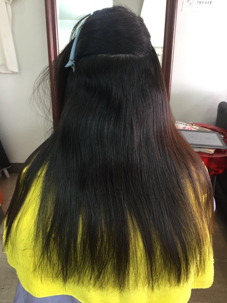 奈良県 コスメストレート 生駒市 美容室 生駒 髪質改善 縮毛矯正
