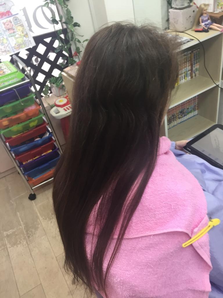 40代ヘアスタイル専門店 白髪染めとストレートパーマが同時に出来ます 学園前 生駒 髪質改善縮毛矯正 生駒市 髪質改善ストレート