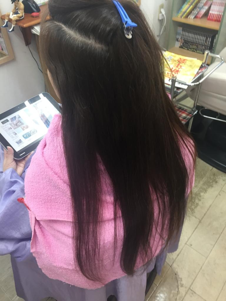アンチエイジング系美容室 学園前 髪質改善ストレート 痛まないストレート高の原 高の原イオン 窮境ストレートパーマ