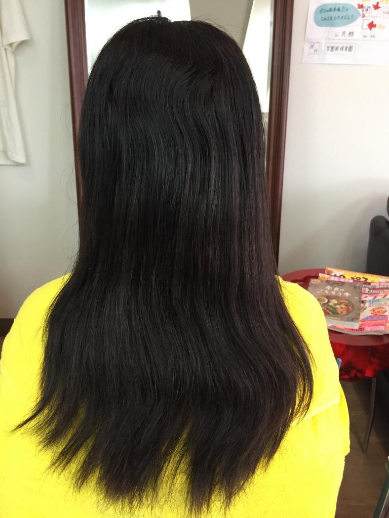 生駒 髪質改善 白髪染めとストレートが同じ日に出来る美容室 縮毛矯正専門店