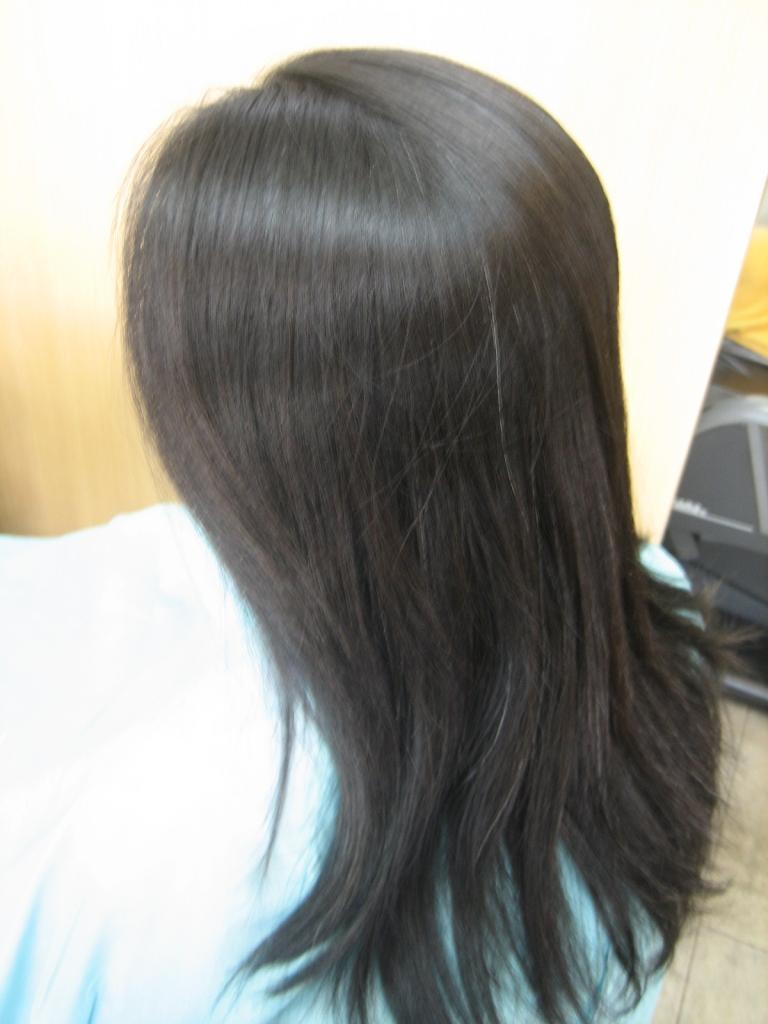 生駒市 美容室 髪質改善 生駒駅 ストレートヘア イメージチェンジ 北生駒 髪の量を減らす 白庭台 キッズスペース あすか野 壱分