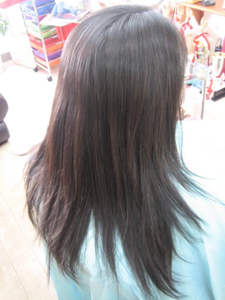 生駒市 40代ヘアスタイル 髪質改善ストレート 白庭台 コスメストレートパーマ 北生駒 美容室 登美ヶ丘 ヘアサロン