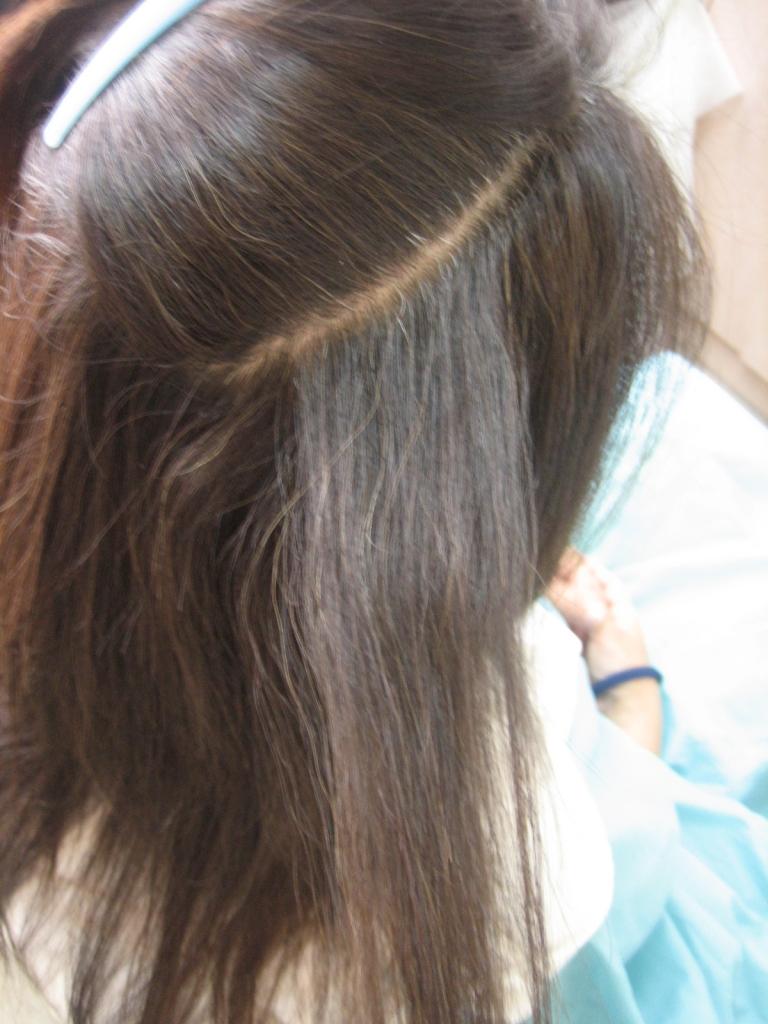 橿原市 縮毛矯正の失敗 八木駅前 美容室の失敗 美容師の失敗 髪の量を減らしすぎた 桜井市