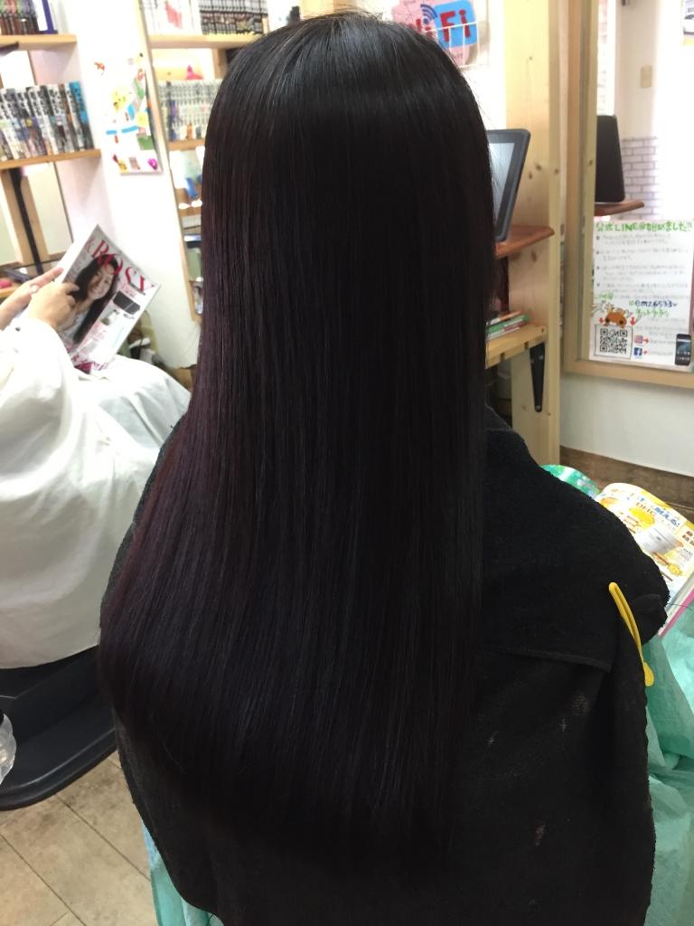 髪質改善 奈良県 美髪ストレート 奈良市 艶髪ストレート 学園前 縮毛矯正 西大寺 高の原