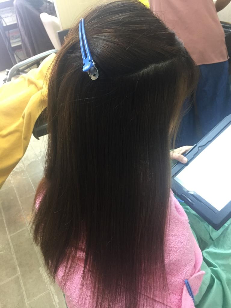 コスメストレート 奈良 コスメ縮毛矯正 西大寺 究極ストレートパーマ 大和西大寺 髪質改善ストレート 高の原
