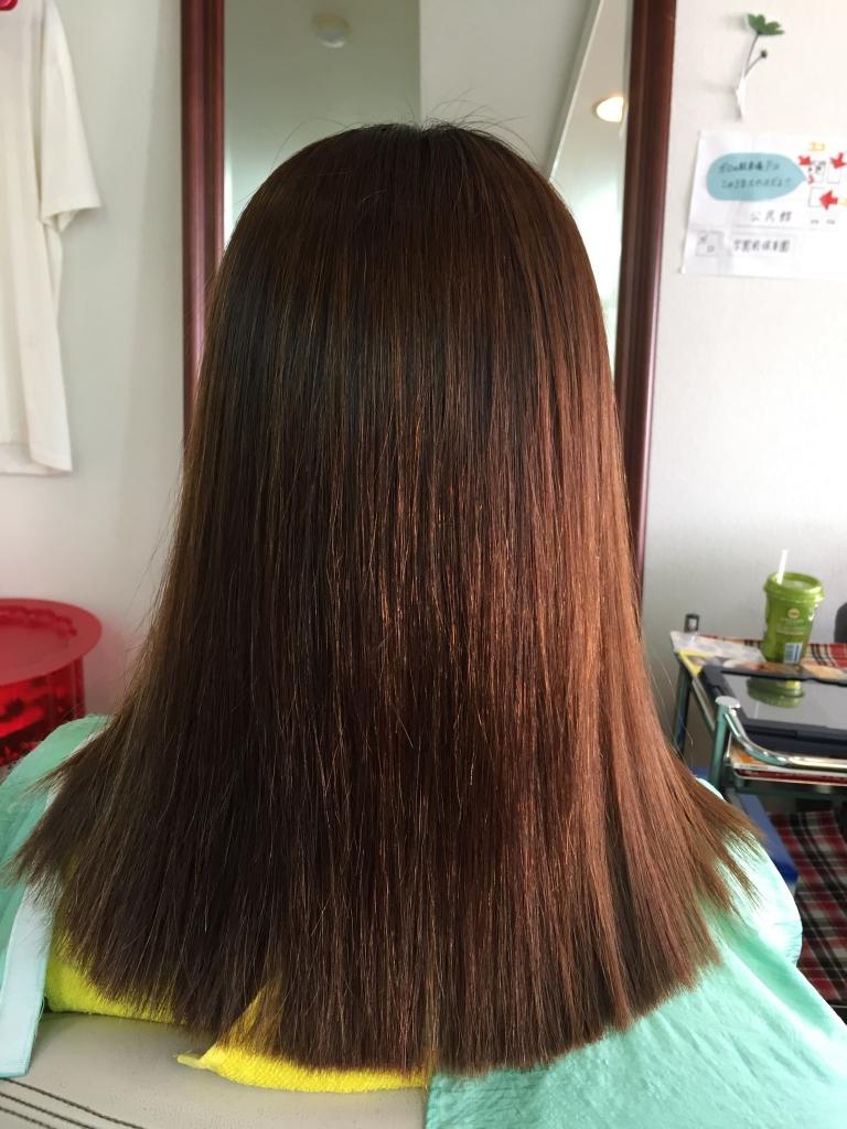奈良県 美髪ストレートパーマ 高の原 艶髪ストレートパーマ 大和西大寺 艶髪縮毛矯正 高の原イオン 美髪縮毛矯正