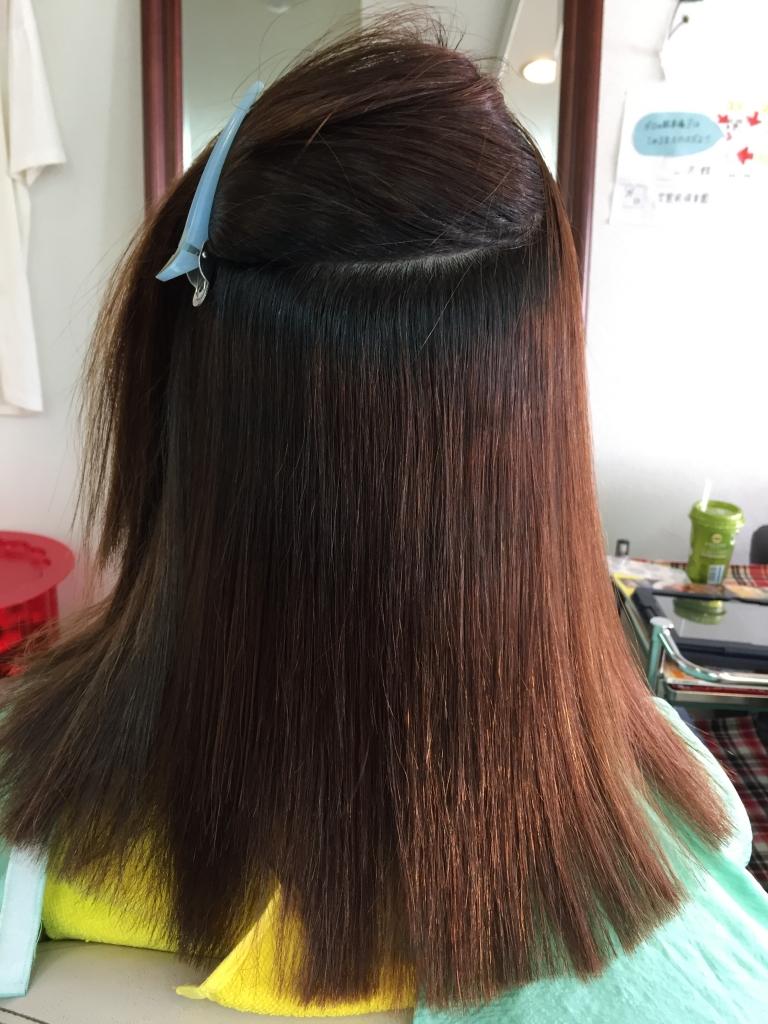 美髪 奈良 艶髪 西大寺 髪質改善縮毛矯正 奈良ファ 美容室