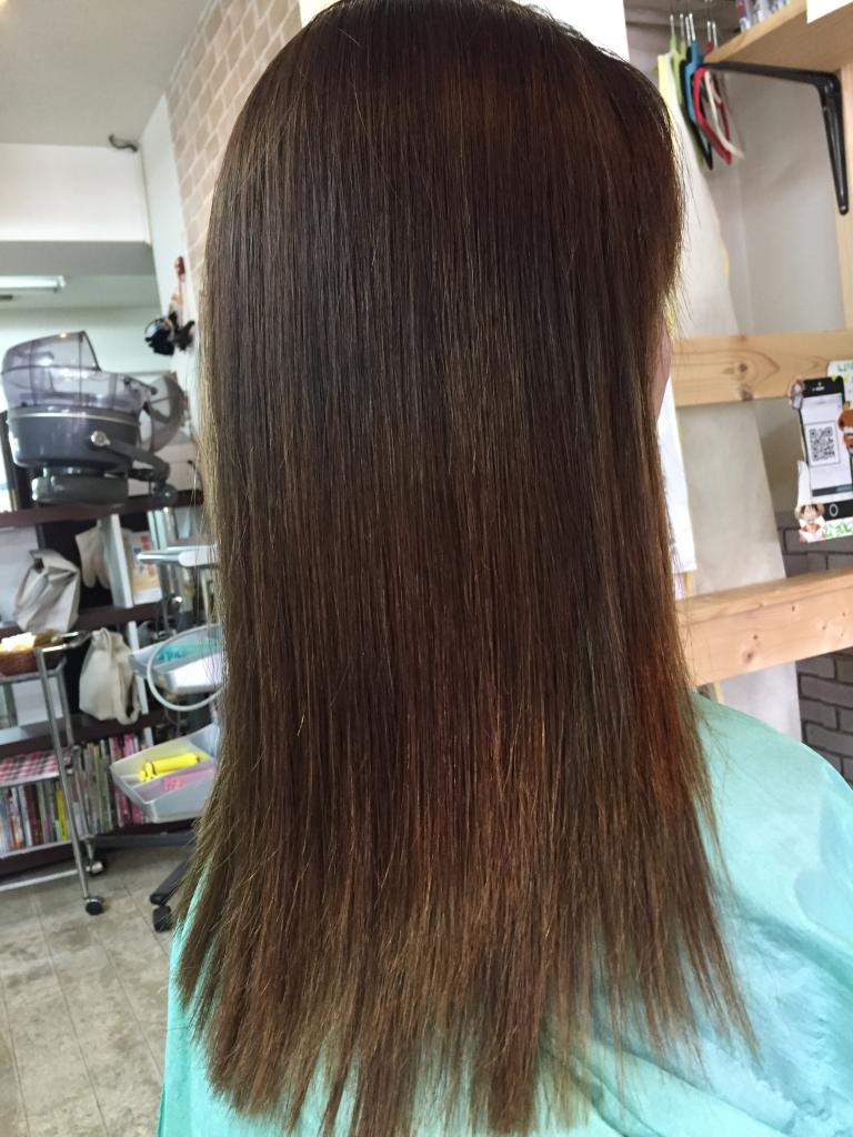 奈良市 美髪ストレート 艶髪ストレート クーポン 縮毛矯正 西大寺 高の原