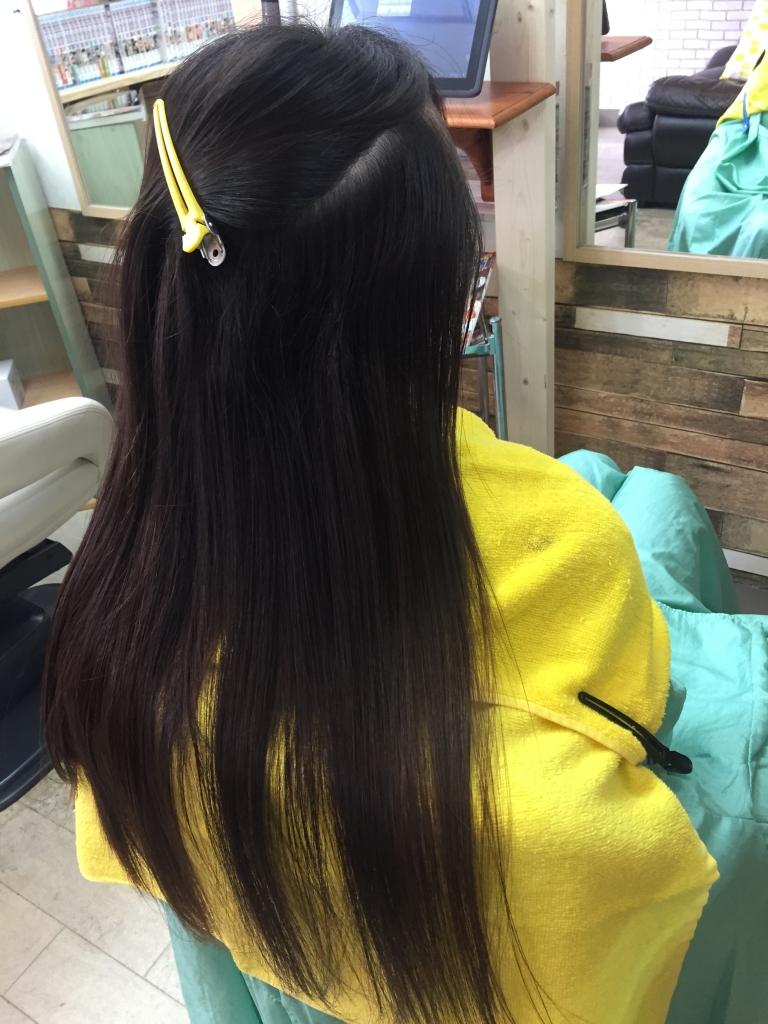 美髪 奈良美容室 艶髪 奈良市美容室 髪質改善 学園前 縮毛矯正 高の原 ストレートパーマ 西大寺