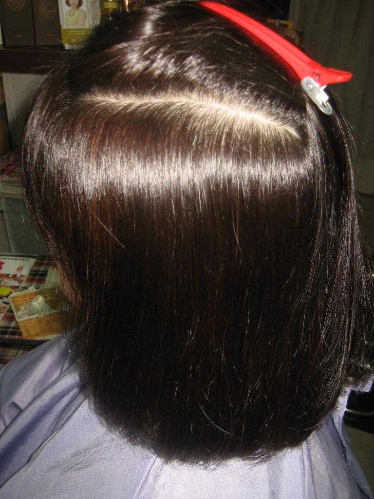 九条 美容室 筒井 大和郡山市美容室 平端 髪質改善縮毛矯正