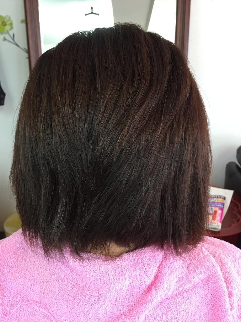 西大寺 美容室 髪質改善 究極ストレートパーマ ならファ 縮毛矯正