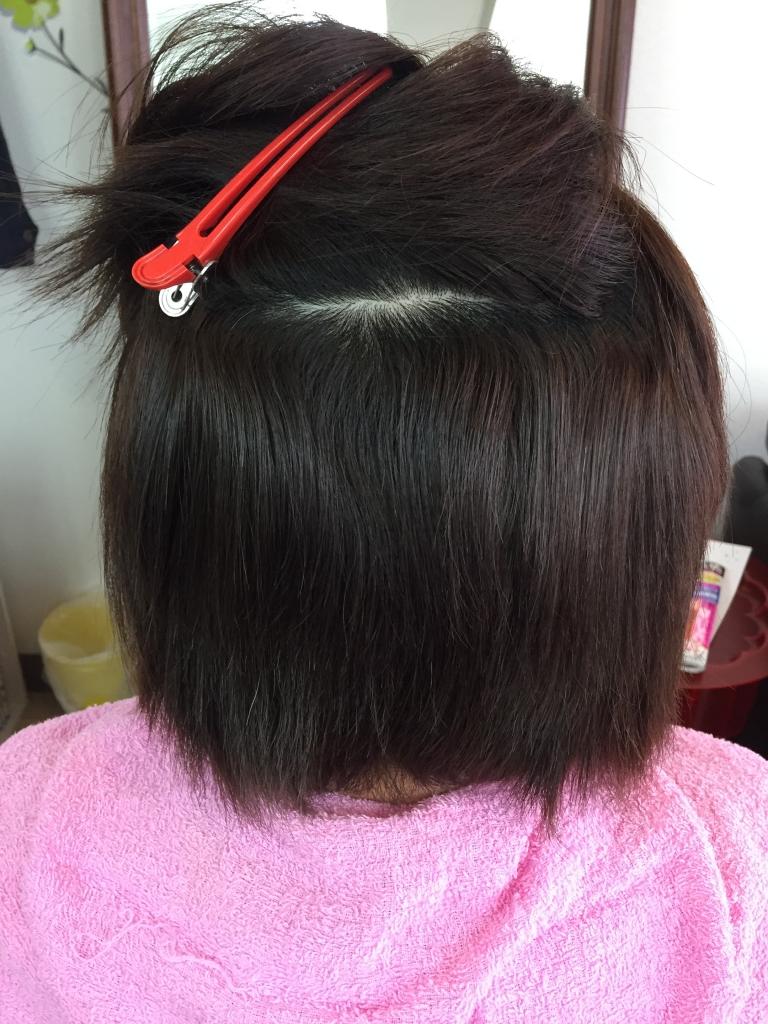 髪質改善 西大寺駅前 美容室 コラーゲンストレート 縮毛矯正 痛まない