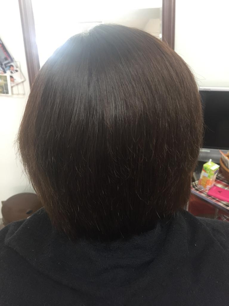 西大寺美容師 縮毛矯正 真っ直ぐになり過ぎない 奈良ファ コスメストレート