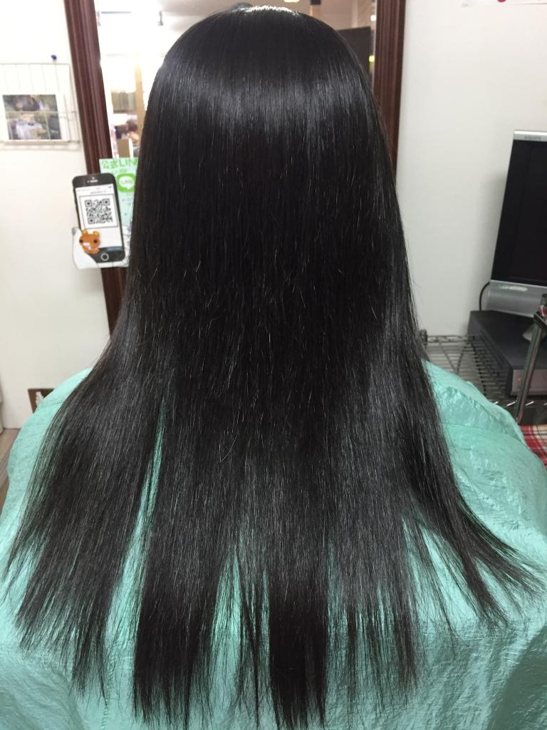 西大寺 イメージチェンジ 美容室 奈良ファ 究極ストレートパーマ 髪質改善 学園前