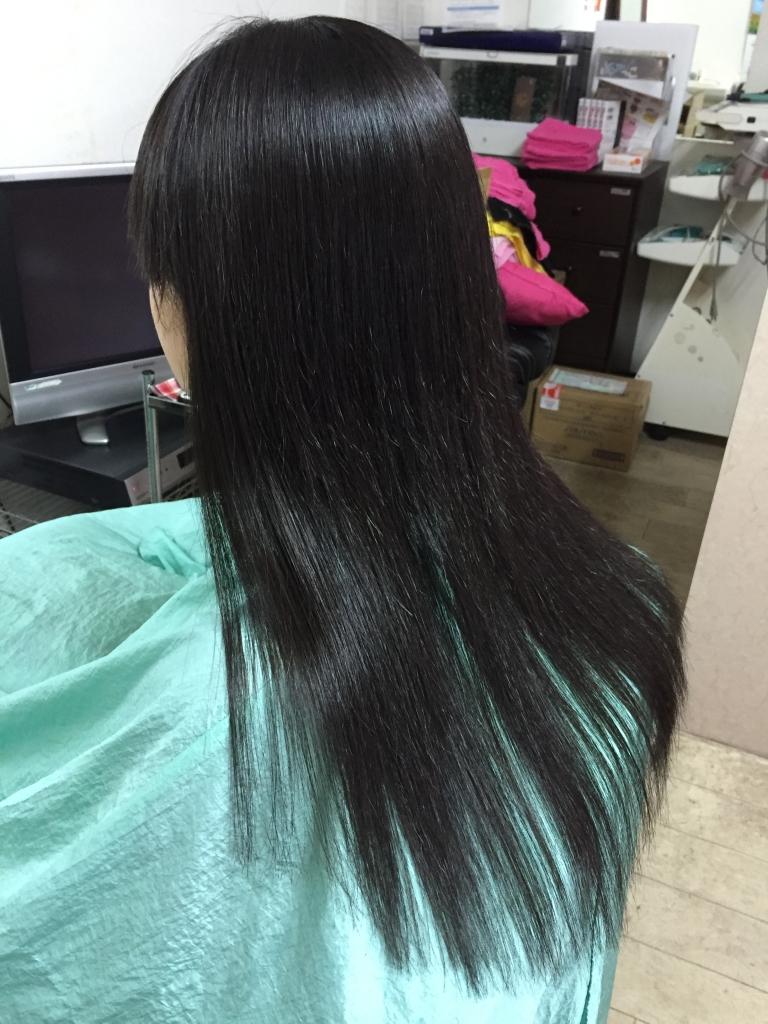 奈良ファ 美容院 艶髪改善 縮毛矯正 学園前