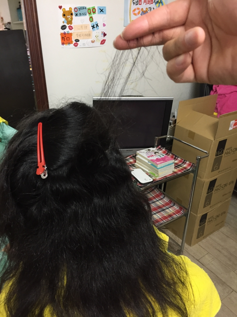 美容室トラブル 奈良 西大寺 美容師の失敗 ヘアカット
