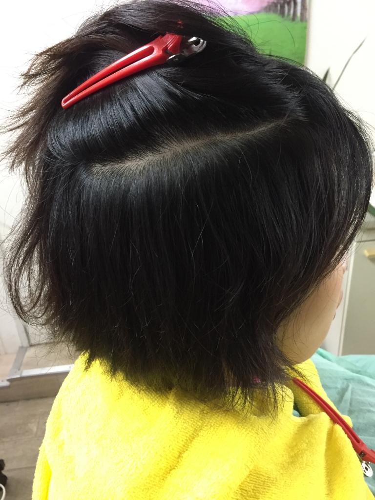 奈良市美容室 縮毛矯正で痛まない 西大寺 真っ直ぐになり過ぎないストレート 奈良ファ 髪質改善