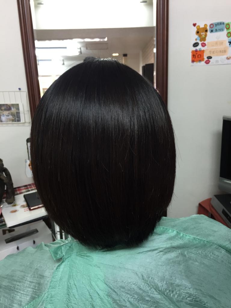 奈良県カットがうまい美容室 西大寺 奈良市 真っ直ぐになり過ぎない縮毛矯正