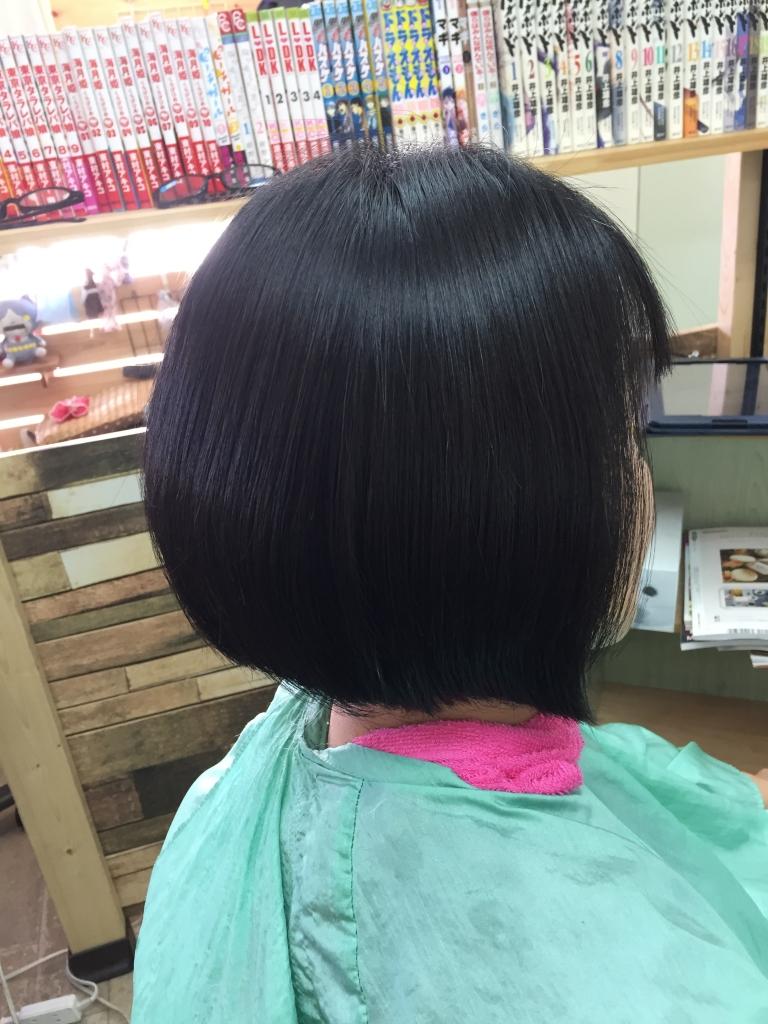 登美ヶ丘 美容室 学園前 60代ヘアスタイル専門店 高の原 髪質改善ストレート
