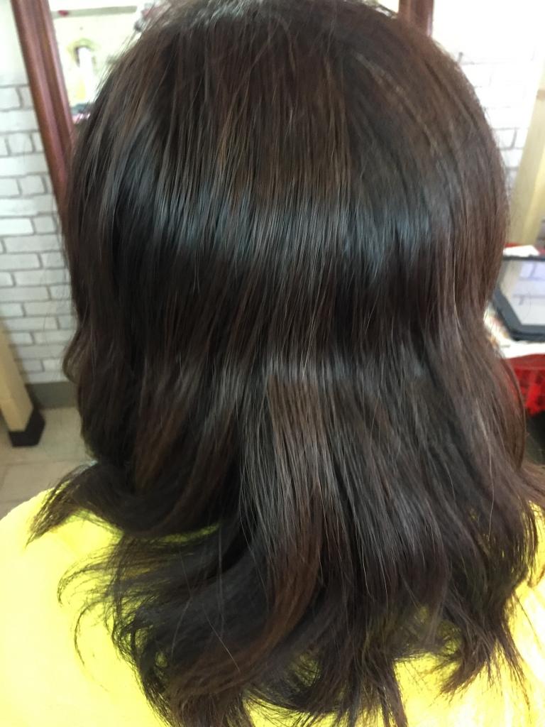 広がる髪を落ち着かせる方法 艶髪 美髪 奈良