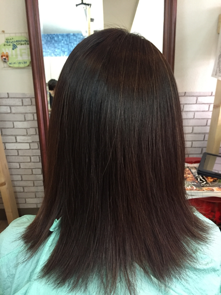 40代ヘアスタイル 奈良県 40代の髪専門店 縮毛矯正 学園前