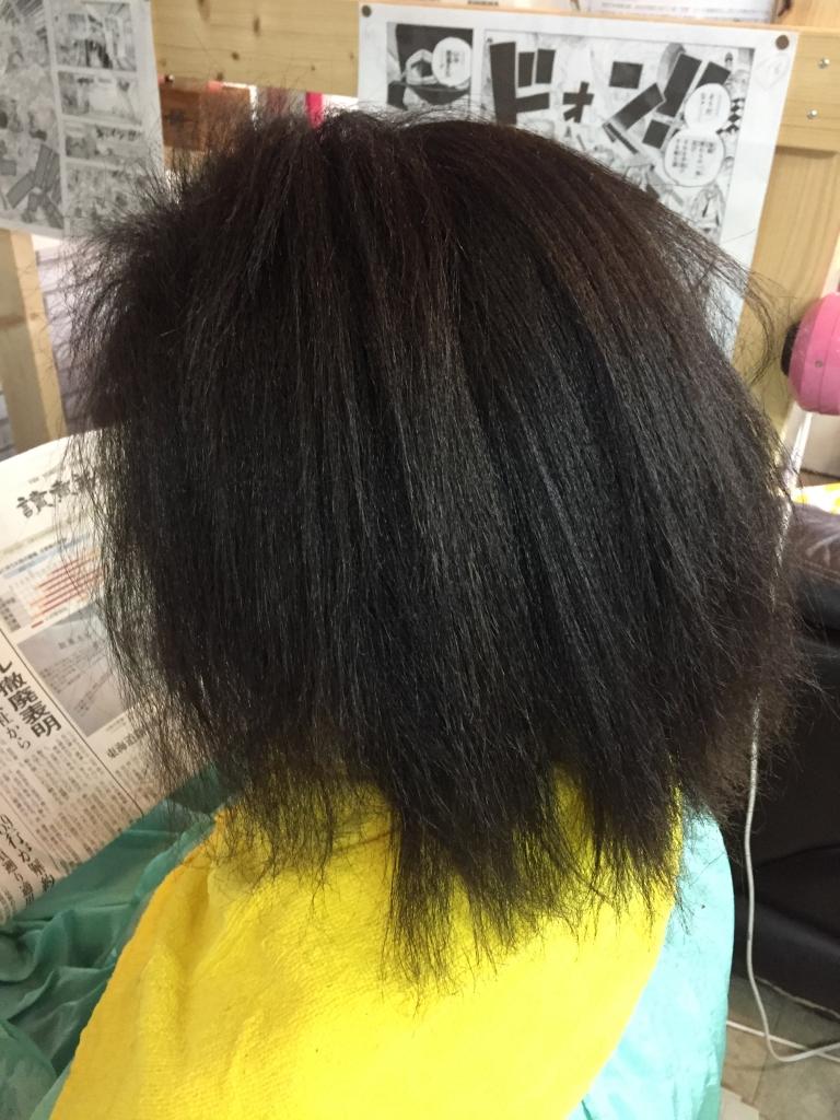 アフリカンストレート アフリカ人の縮毛矯正