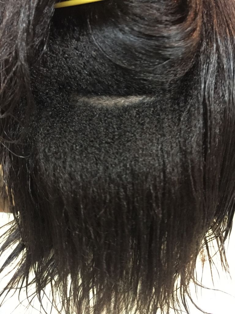 黒人縮毛矯正 外国人のストレートパーマ