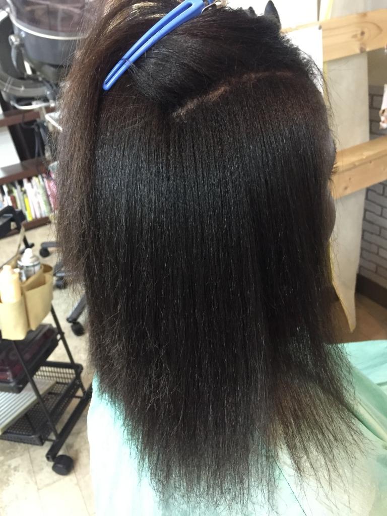 アフリカンストレート アフリカ人の髪を真っ直ぐにする