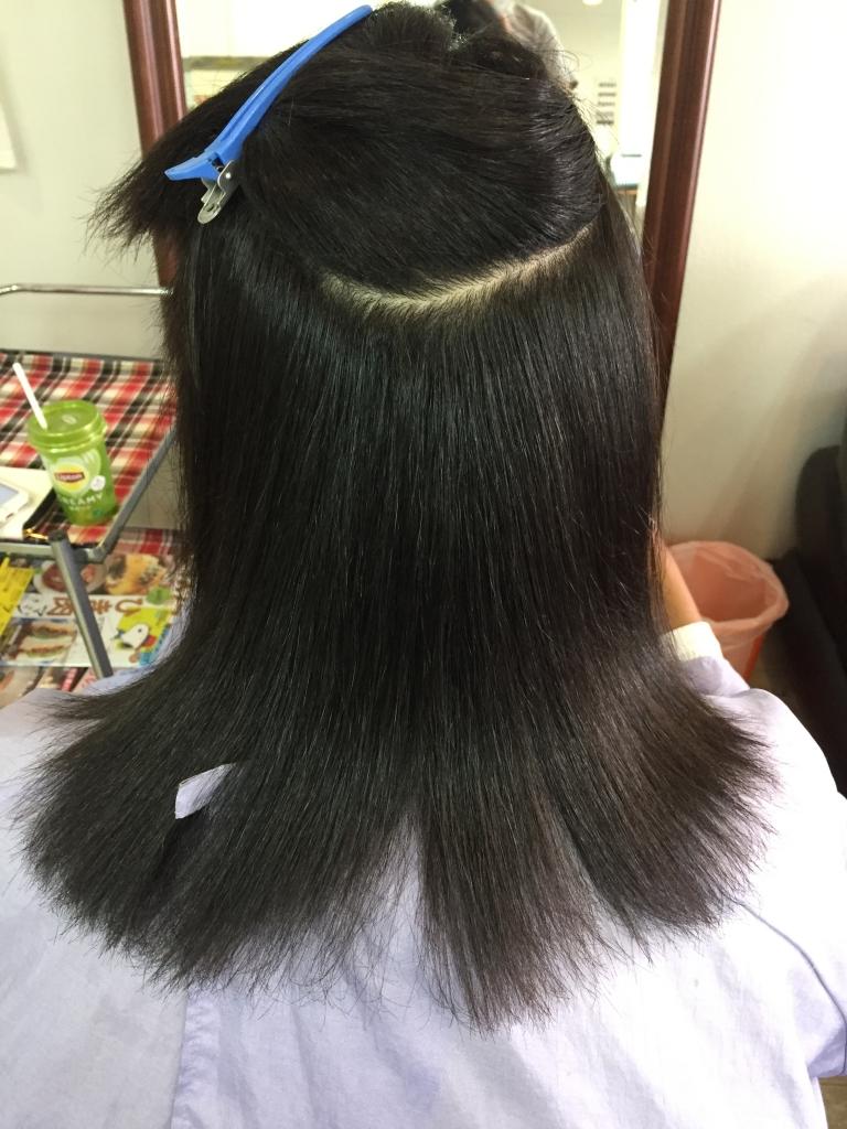 黒人ハーフの髪質改善 外国人の髪質改善