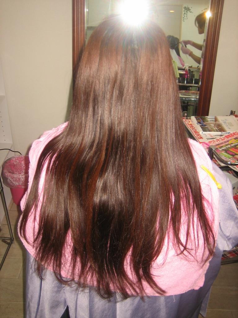 西大寺 髪質改善ストレートパーマ 大和西大寺 美容室トラブル 奈良ファ