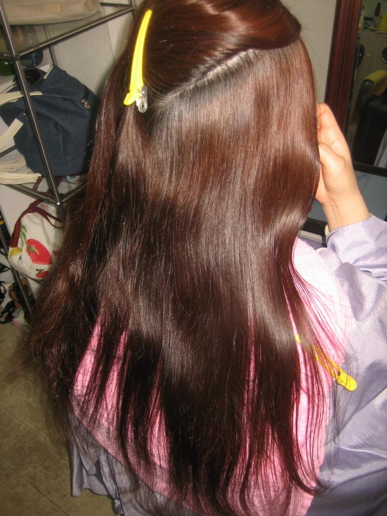 髪質改善縮毛矯正 奈良市美容室 高の原 高の原イオン 美容室