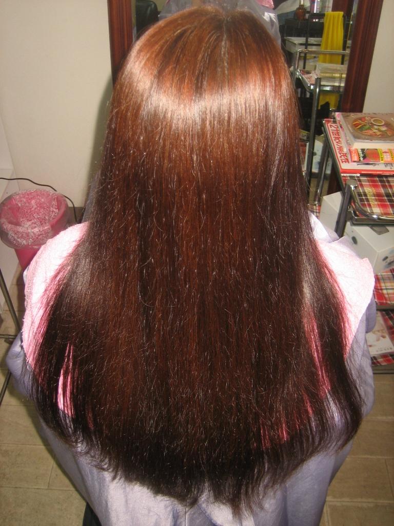 40代ヘアスタイル 髪質改善 アンチエイジング系美容室 縮毛矯正