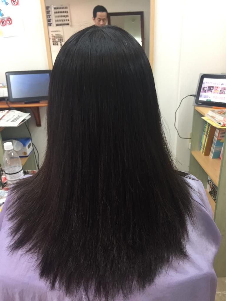 三重県 縮毛矯正 美容室 四日市市 髪質改善ストレート