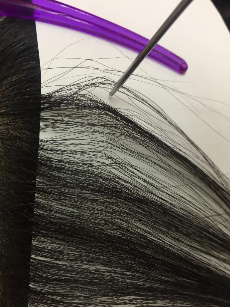 美容室の失敗 髪の根折れ ストレートパーマの失敗