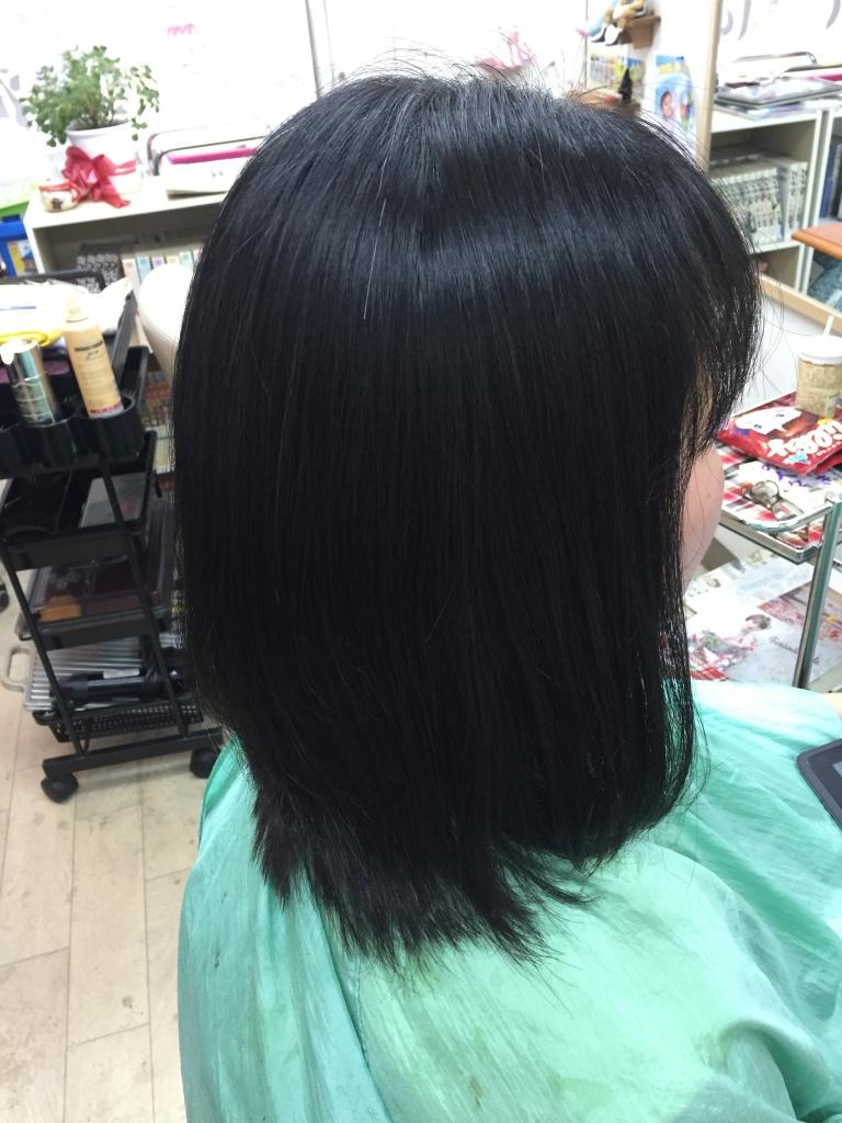 アラフォーのヘアスタイル 髪質改善 白庭台 生駒市内美容室