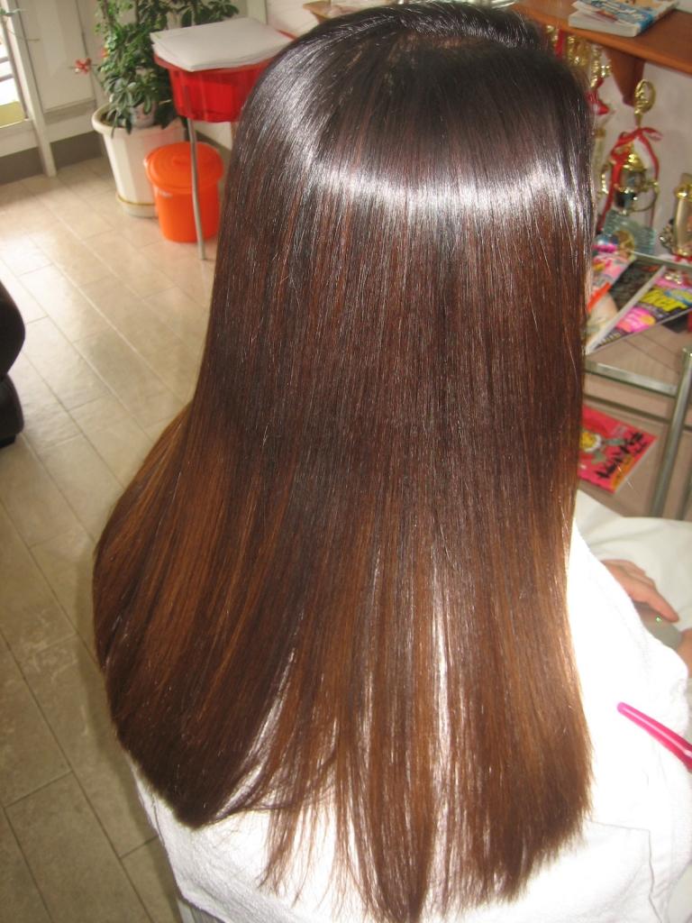 髪質改善 外国人風ヘアカラー 奈良県 生駒市 美容院