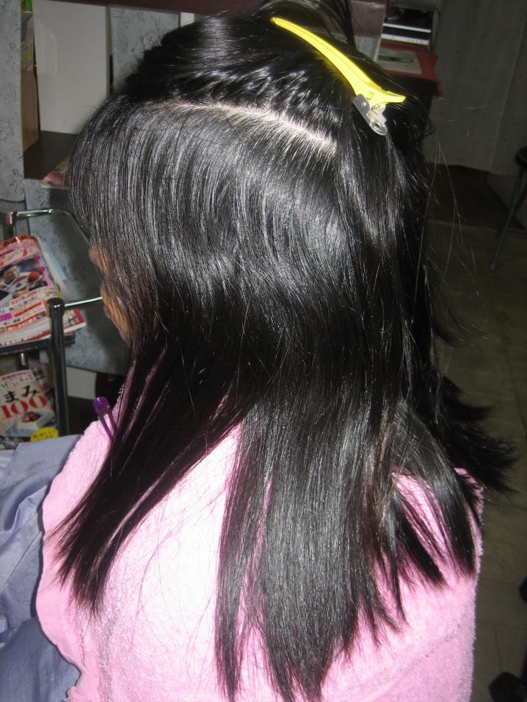 生駒 美容室 白庭台 髪質改善 縮毛矯正