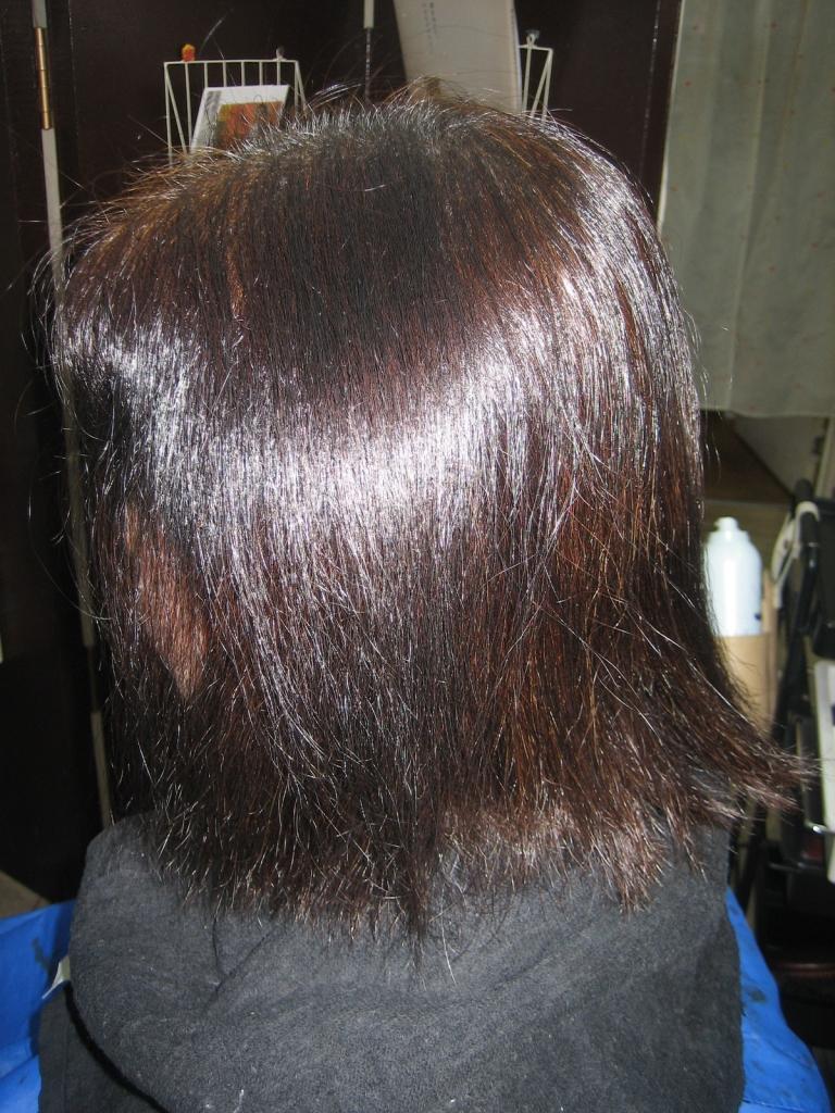 美容室での事故 髪のダメージ 髪質j改善