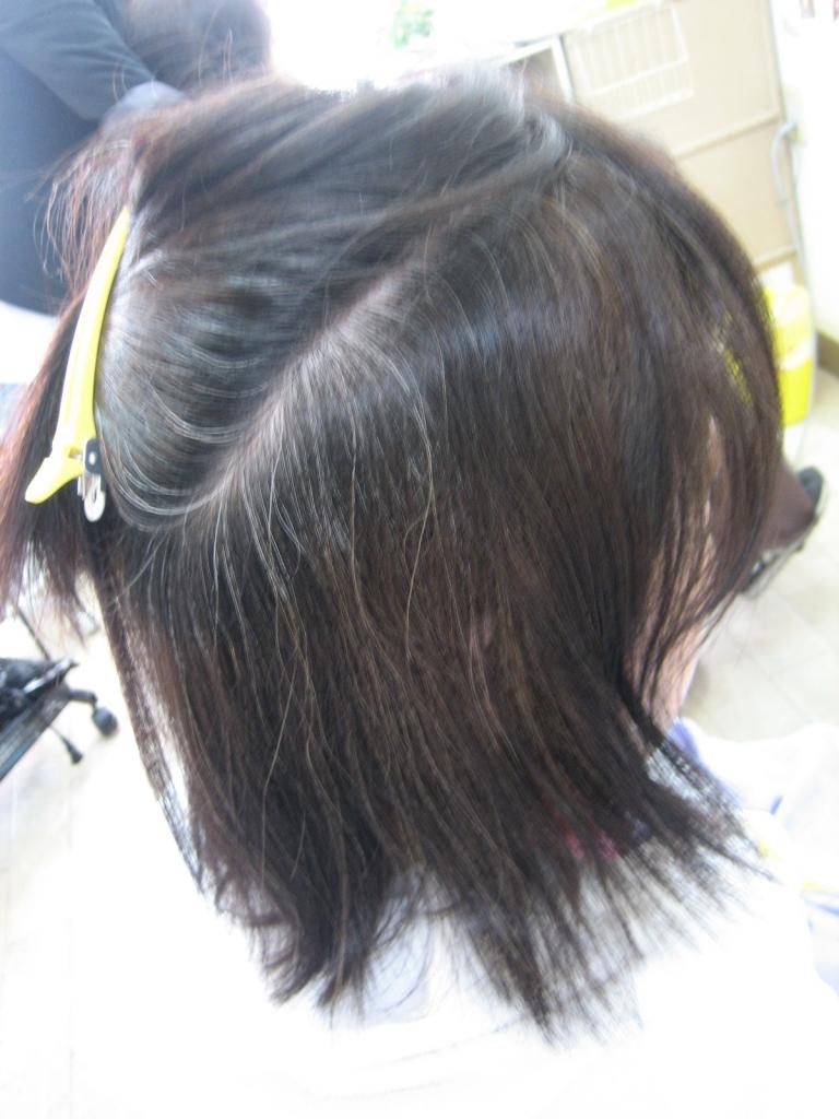 奈良県 美容室 縮毛矯正