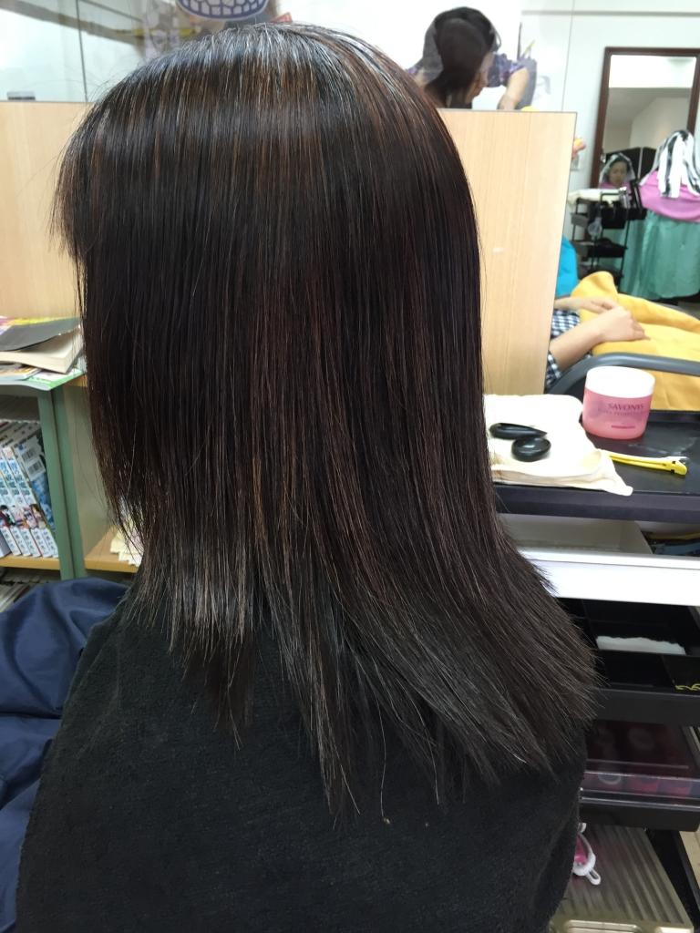 美髪 髪質改善 50代ヘアスタイル 白髪染め ストレートパーマ 縮毛矯正