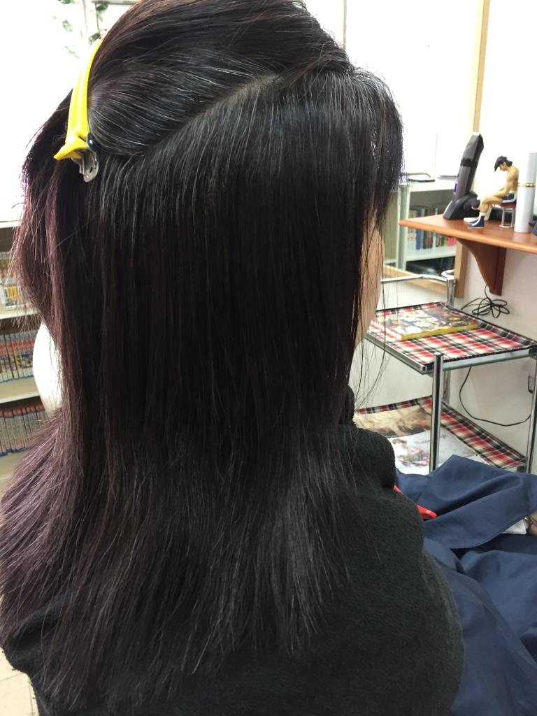 西大寺 美容室 髪質改善 50代ヘアスタイル
